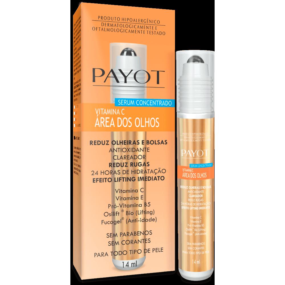 Sérum Vitamina C para Área dos Olhos - Payot 14ml