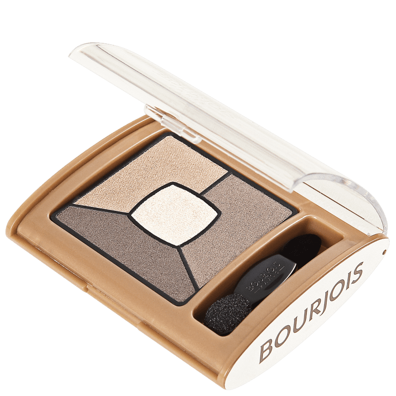 Smoky Stories Bourjois 06 Upside Brown - Paleta de Sombras 3,2g