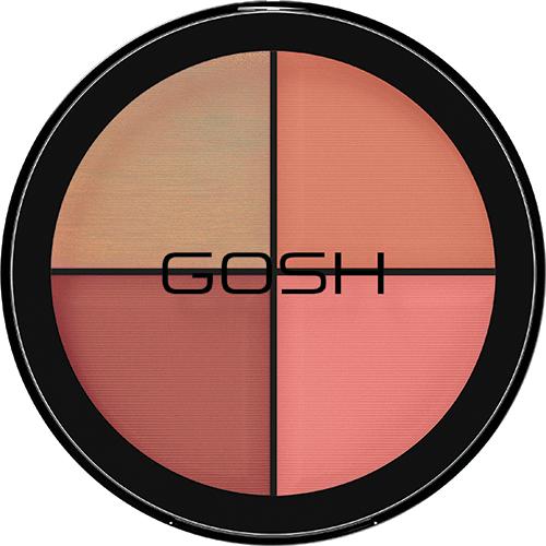 Strobe'n Glow Kit GOSH Blush - Paleta de Blush e Contorno 15g