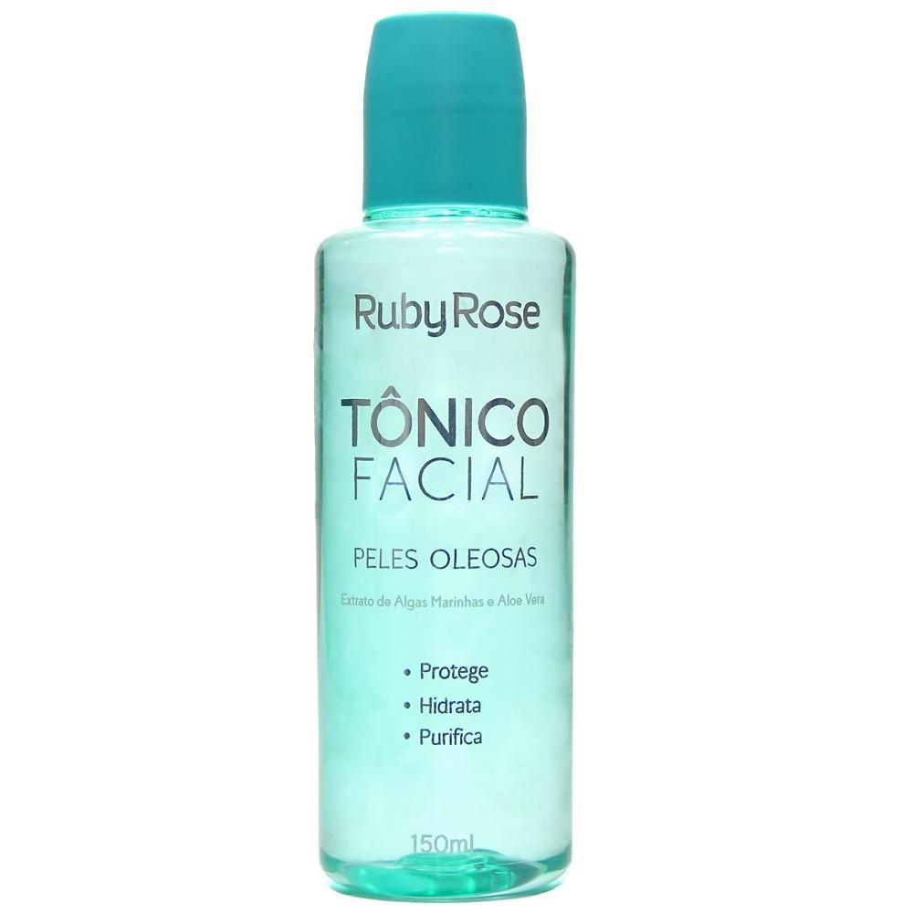Tônico Facial Ruby Rose - Peles Oleosas 150ml