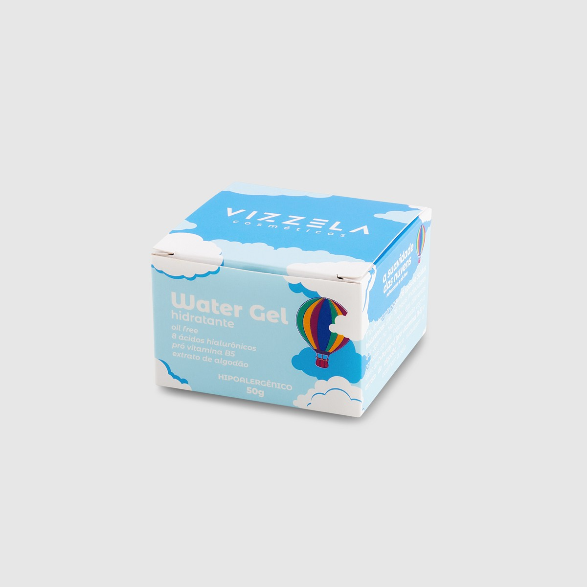 Water Gel Hidratante - Vizzela 50g