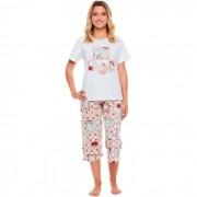 Pijama Sonhart Manga Curta e Corsário Retratos