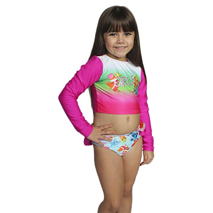 Biquini Kids Cia do Broto Sensitive Girls Protecao UV 50+