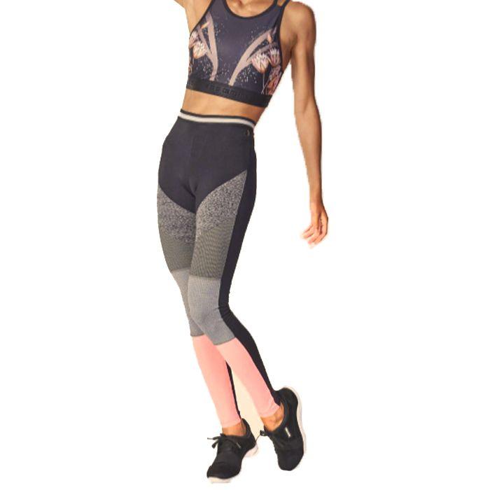07ca03a35 Calça Legging Colcci Fitness Recortes 002.57.00496 - Cancun Biquínis ...