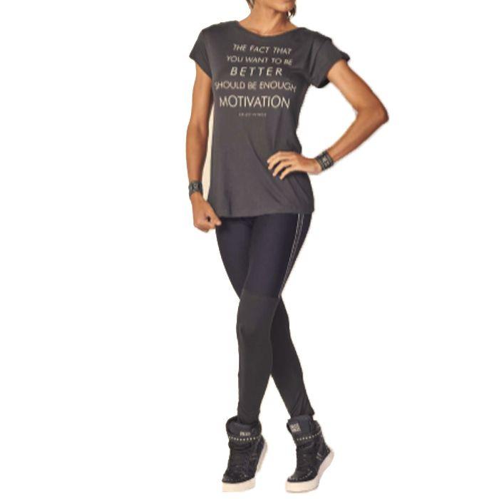 fcc56b396 ... Calça Legging Colcci Fitness Elástico Personalizado Laterais ...