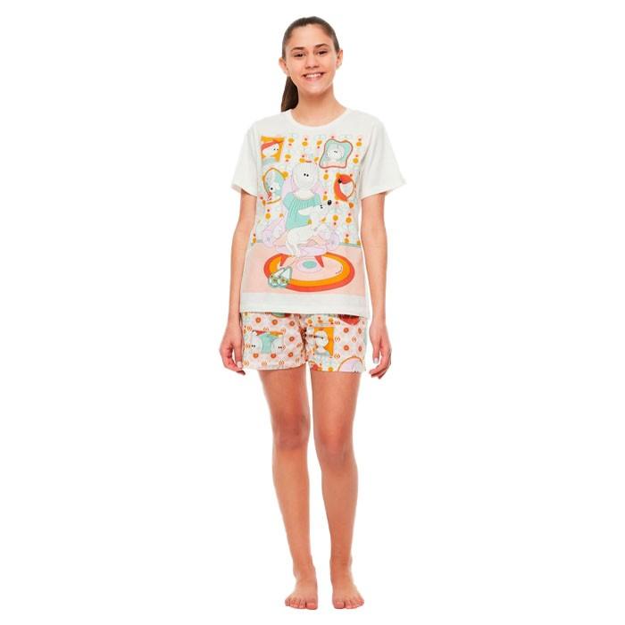 Pijama Sonhart Manga Curta e Short