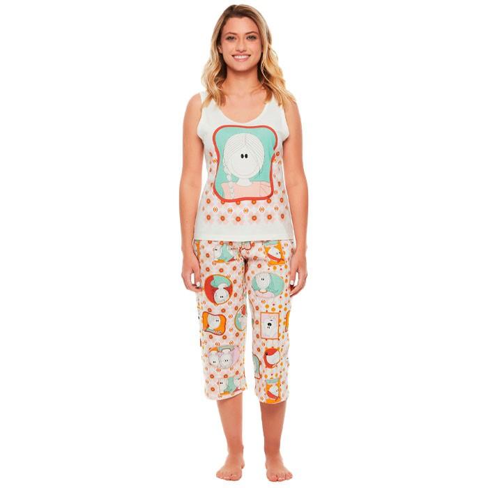 Pijama Sonhart Regata e Corsário Pat