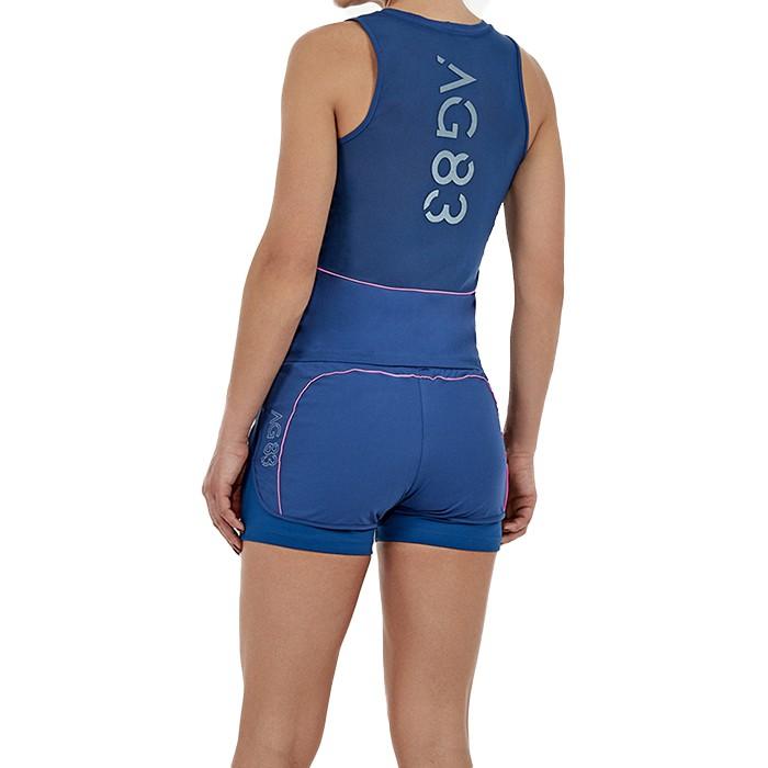 Shorts Alto Giro Skin Fit Fun Fitness