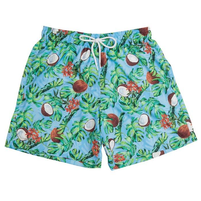 Shorts Mash Estampado Coco