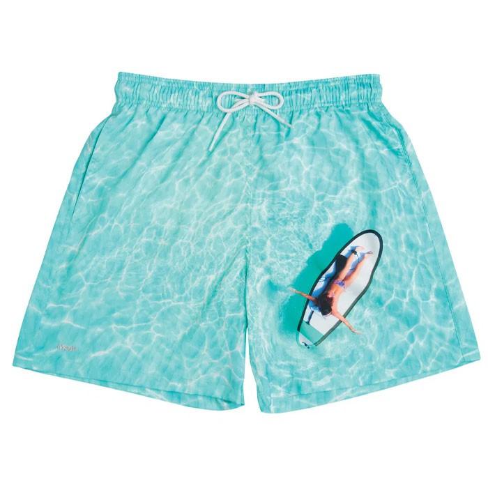 Shorts Mash Estampado Paisagem Barcos
