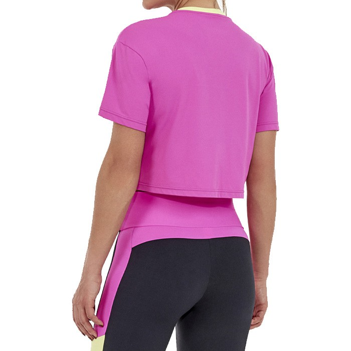 T-Shirt Cropperd Alto Giro Skin Fit AG