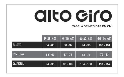TOP ALTO GIRO BODYTEX COSTAS DECOTADA
