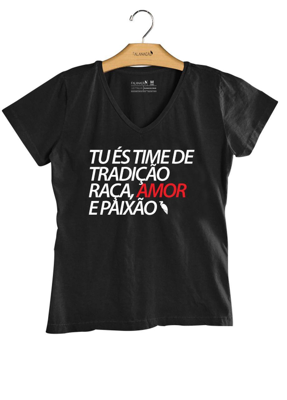 T-Shirt Feminina Tradição - Preta