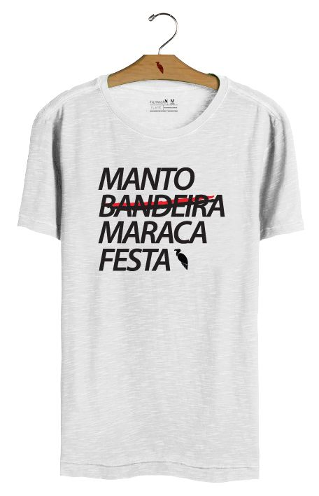 T•Shirt Manto - Branca