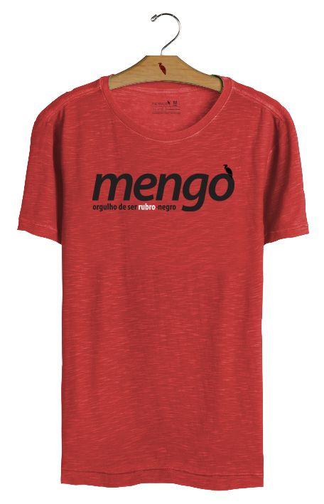 T•Shirt Mengo - Vermelha