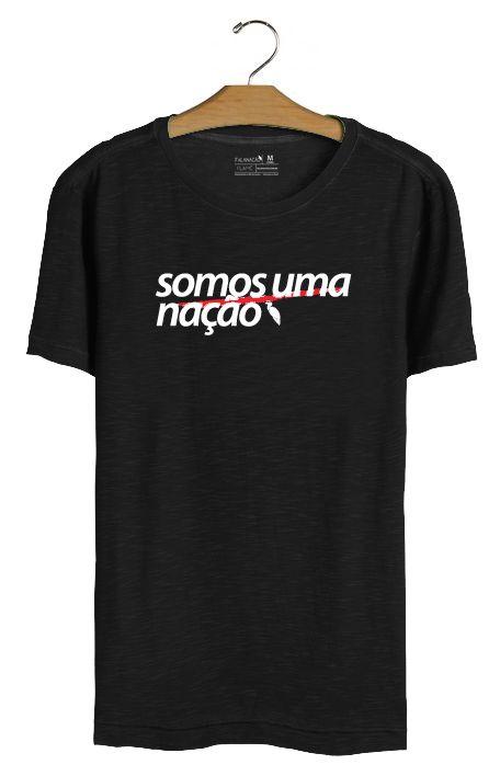 T•Shirt Nação - Preta