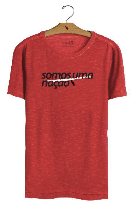T•Shirt Nação - Vermelha