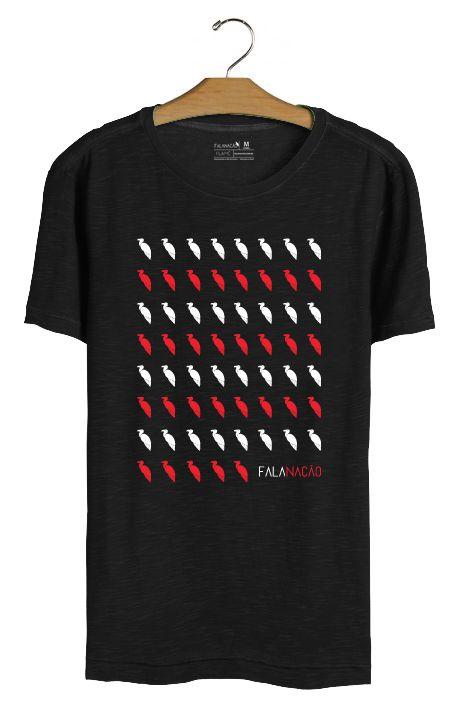 T•Shirt Urubus - Preta