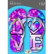 Kit com 12 pares de chinelos atacado para revenda  Milly My love mod.02