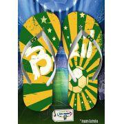 Kit com 12 pares  Brasil 03