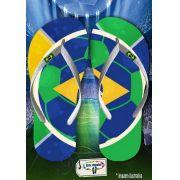 Kit com 12 pares  Brasil 10