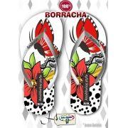Kit com 12 pares de chinelos atacado para revenda Arabbelas Floral  Mod. 10
