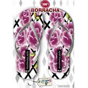 Kit com 12 pares de chinelos atacado para revenda Arabbelas Floral  Mod. 12