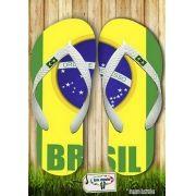 Kit com 12 pares de chinelos atacado para revenda Brasil Masc 01