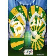 Kit com 12 pares de chinelos atacado para revenda Brasil 03