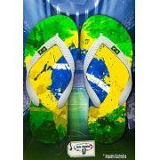 Kit com 12 pares de chinelos atacado para revenda Brasil Masc 09