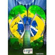 Kit com 12 pares de chinelos atacado para revenda Brasil 09
