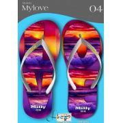 Kit com 12 pares de chinelos atacado para revenda  Milly My love mod.04