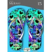 Kit com 12 pares de chinelos atacado para revenda  Milly My love mod.14