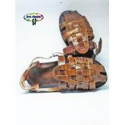 Kit com 12 pares Zack Couro Sandália de couro Mod 03