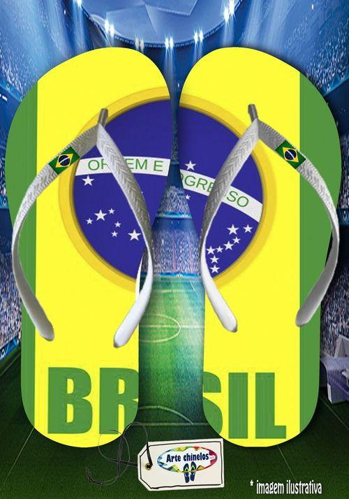 Kit 12 pares de chinelos atacado Brasil 01