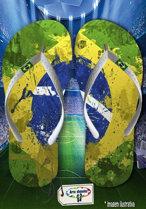 Kit 12 pares de chinelos atacado Brasil 02