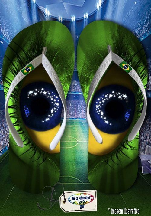 Kit 12 pares de chinelos atacado Brasil 08