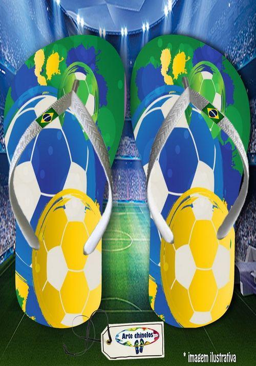 Kit 12 pares de chinelos atacado Brasil 12