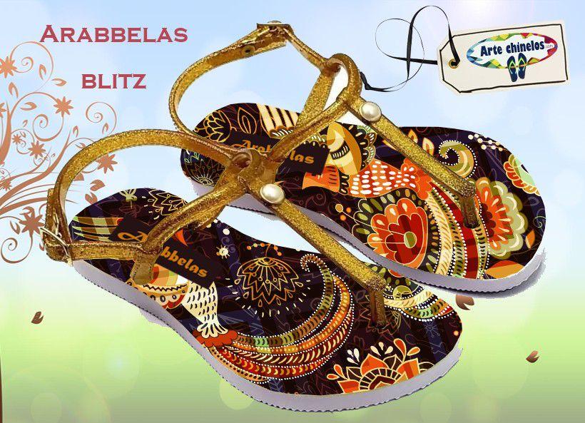 Kit com 12 pares de chinelos atacado para revenda  Arabbelas Blitz mod. 53