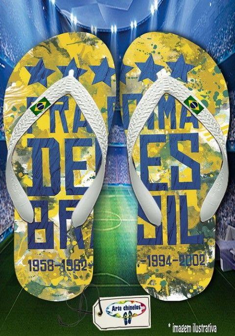 Kit com 12 pares de chinelos atacado para revenda Brasil Masc 05