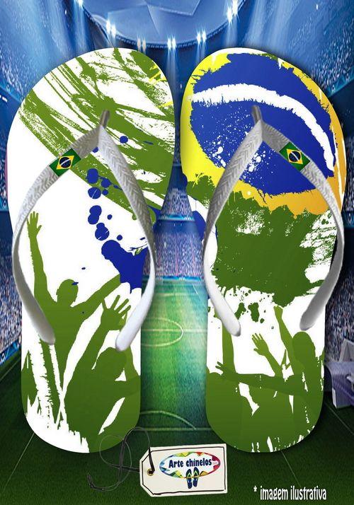 Kit com 12 pares de chinelos atacado para revenda Brasil 06  - Arte Chinelos Atacado