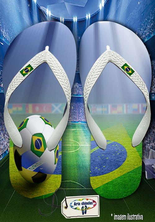Kit com 12 pares de chinelos atacado para revenda Brasil Masc 07