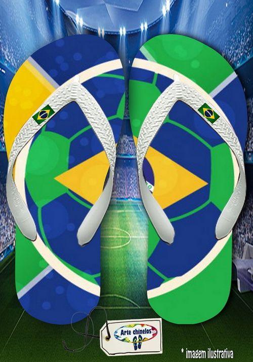 Kit com 12 pares de chinelos atacado para revenda Brasil Masc 10