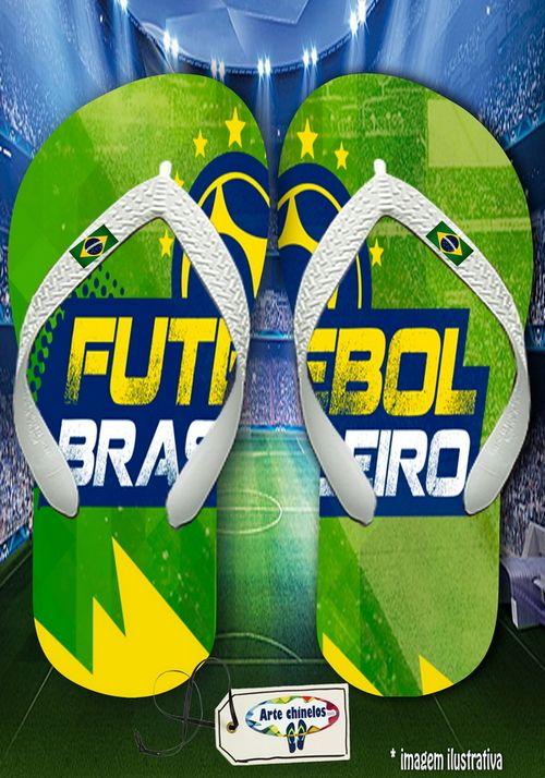 Kit com 12 pares de chinelos atacado para revenda Brasil Masc 11