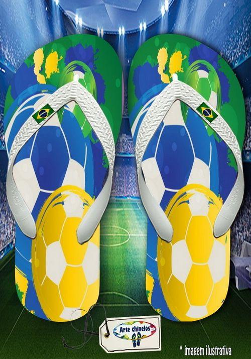 Kit com 12 pares de chinelos atacado para revenda Brasil Masc 12
