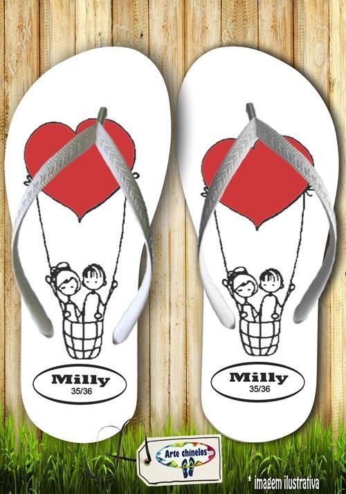 Kit com 12 pares de chinelos atacado para revenda  Milly slim Mod. 08