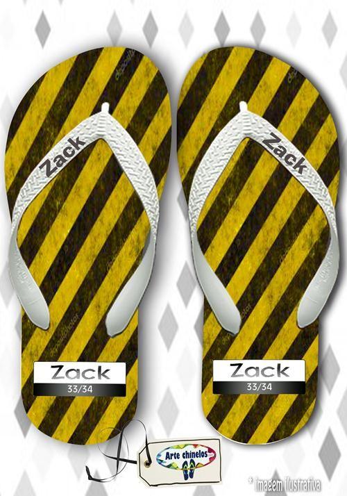 Kit com 12 pares de chinelos atacado para revenda  Zack On Mod. 03  - Arte Chinelos Atacado