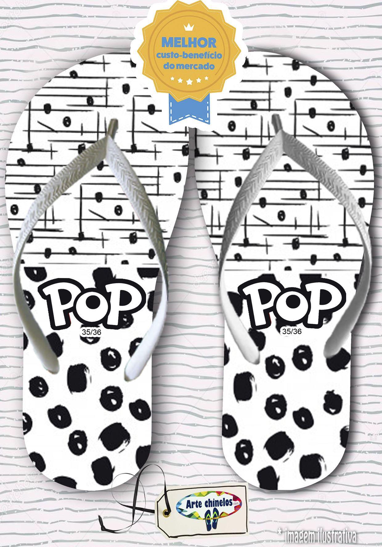 Kit com 12 pares de chinelos linha popular Feminino MOD.06