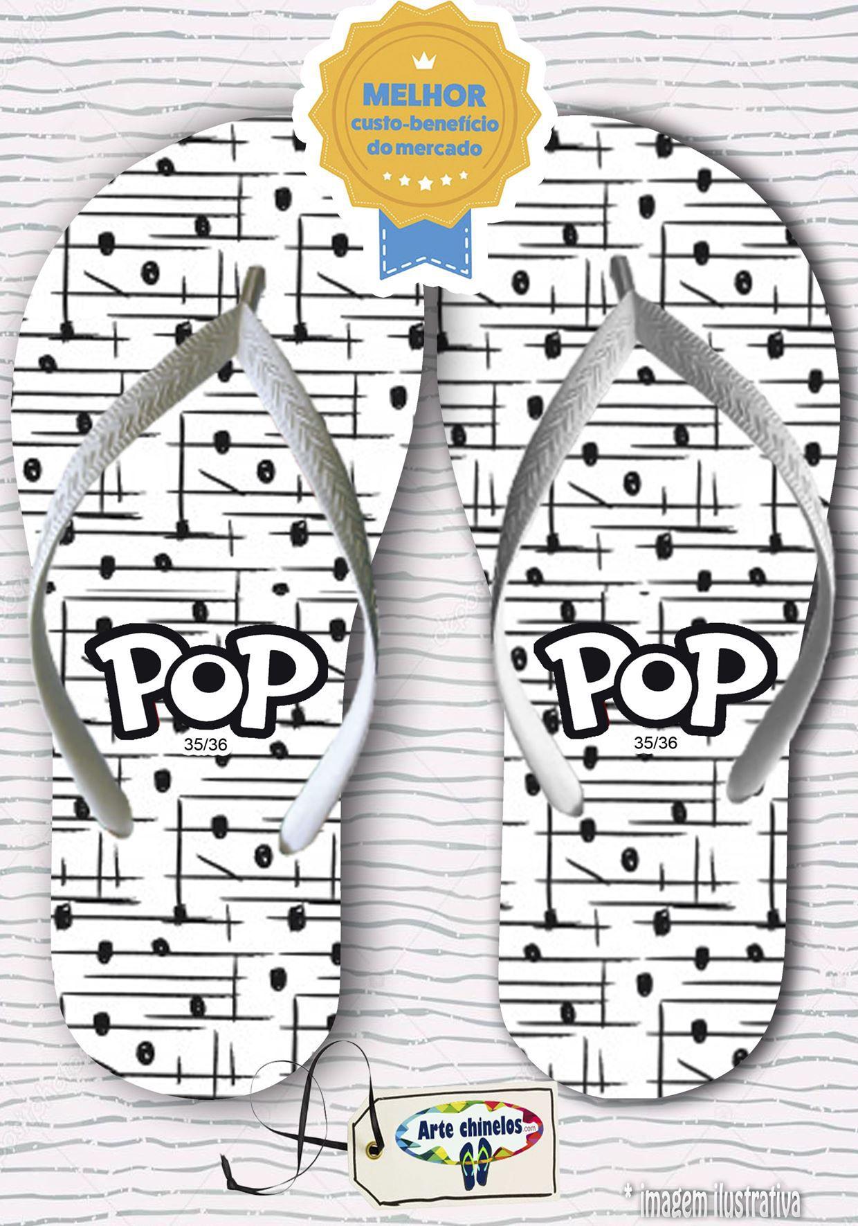 Kit com 12 pares de chinelos linha popular Feminino MOD.08