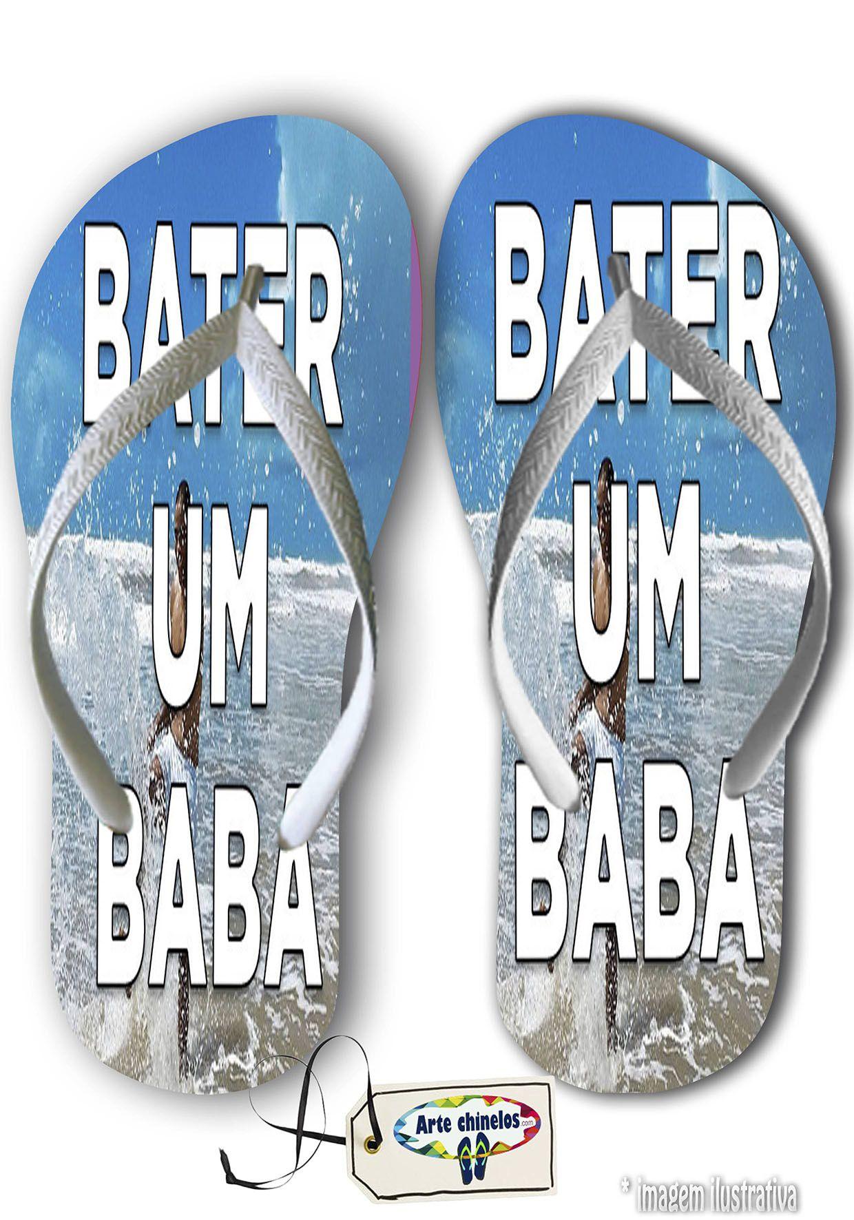 Kit com 12 pares Salvador - BA Mod. 08  - Arte Chinelos Atacado